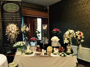 flower table wedding fayre